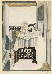 Cubist Composition with Table