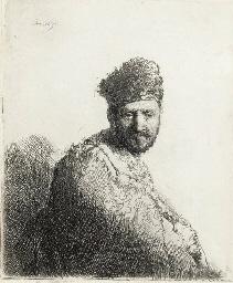 Bearded Man, in a Furred Orien