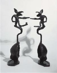 Nijinski Hares on globe form