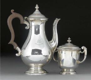 A George V Silver Coffee Pot a