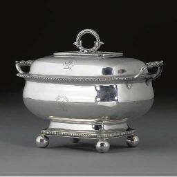 A George III Silver Sauce Ture