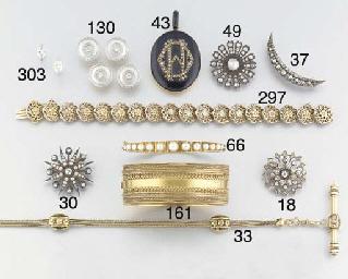 A late 19th century diamond op