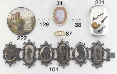 A 19th century circular micro-