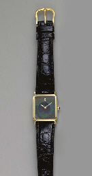 FOUR GOLD WRISTWATCHES
