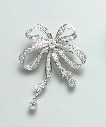 A BELLE EPOQUE DIAMOND, PLATIN