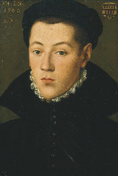 Portrait of a young man, said