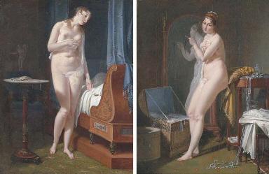 La Veille du Mariage: a nude w