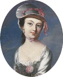 Portrait of Mary Clarke, Mrs.