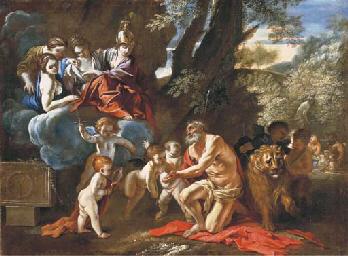 The Four Cardinal Virtues appe
