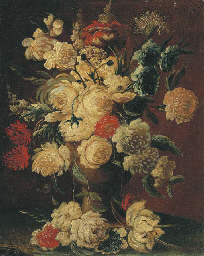 Roses, peonies and other flowe