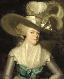 Portrait of a Lady in a plumed