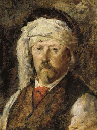 Portrait of a man with a banda