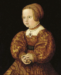 Portrait of a girl holding a g