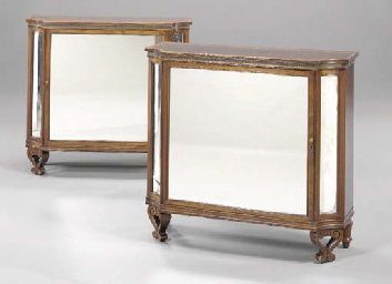 A PAIR OF REGENCY STYLE TULIPW
