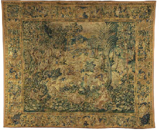 FLEMISH GAME-PARK TAPESTRY,