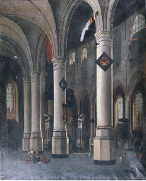 The interior of the New Church