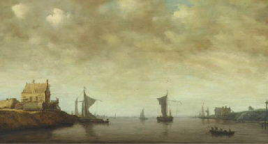 Shipping by the Oude Wachthuis