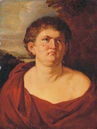 Portrait of Emperor Nero, half