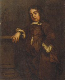 Portrait of a boy, small stand