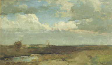 A dune landscape - a study