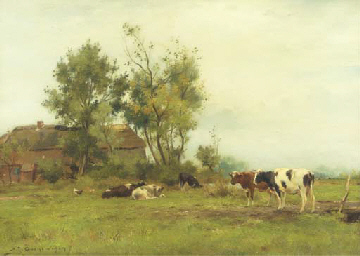 Dutch pastures: live-stock by