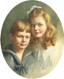 Sweet siblings: doubleportrait