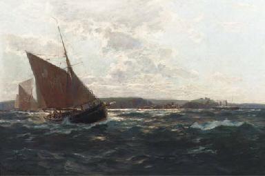 Fisherboote vor der englischen