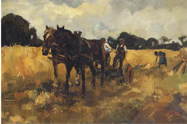 Harvesting the land