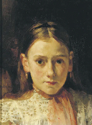 Portrait of a girl, said to be
