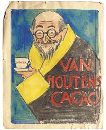Van Houten's Cacao - a poster