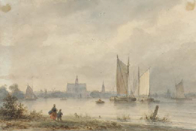 View of Haarlem across the Spa