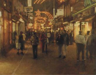 Kalverstraat by night