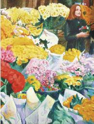 Flowergirl at Albert Cuyp mark