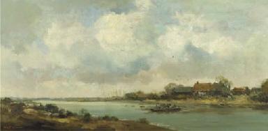 A ferry across a river, Arcen