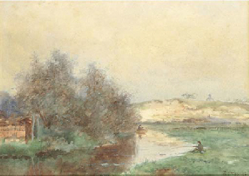 Fishermen in the dunes