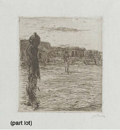 a small collection of etchings
