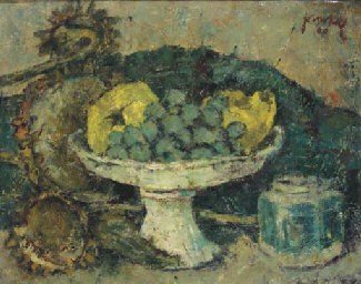 A still life with fruits, sunf
