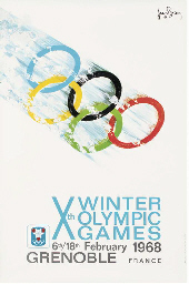 Xth WINTER OLYMPIC GAMES, GREN