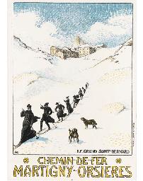 CHEMIN-DE-FER, MARTIGNY-ORSIER