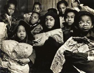 Children, Harlem, 1946