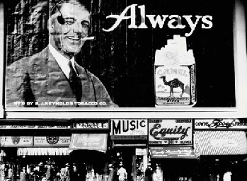 'Always Camel', Times Square,