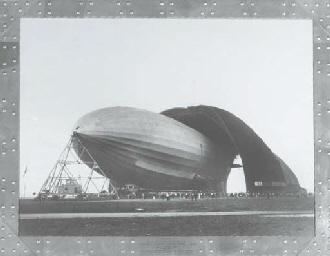 The U.S.S. Akron, 1931