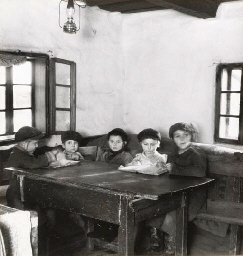 Children at Cheder, Mukachevo,