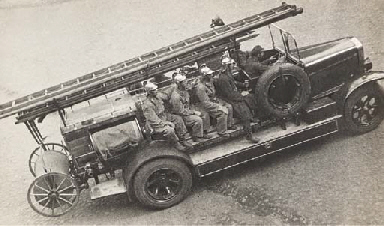 Firemen Being Dispatched, 1932