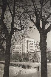 Petrovskii Park. New Buildings