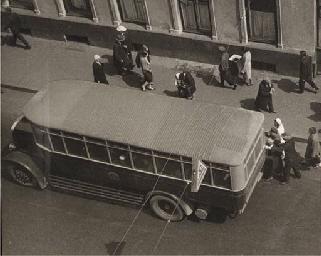 Arbat, Bus Station, 1932