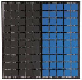 50 + 50 azul y negro