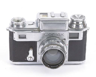 Contax cameras:
