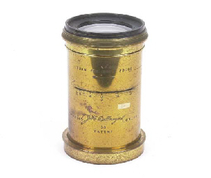 Dallmeyer 3B Patent lens no. 1