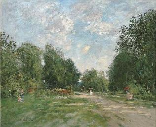 Le Parc Cordier à Trouville